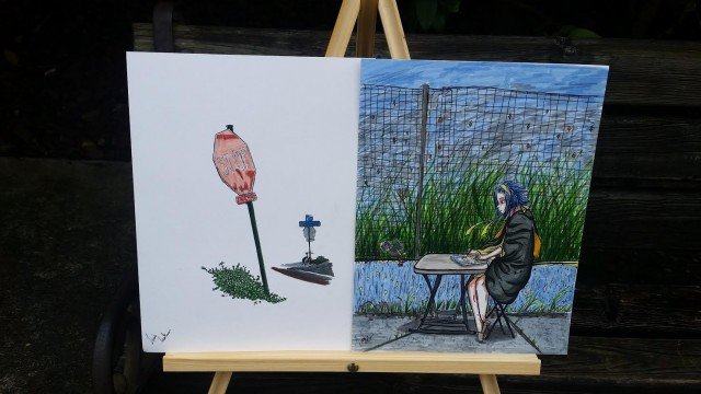 Third Place – Youth Paint Out Wilmington! – Caitlyn Keller