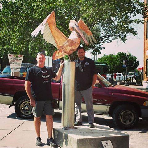 Pedestrian Art: Pelican by Dumay Gorham
