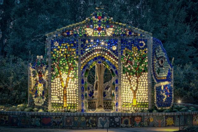 Minnie Evans Bottle Chapel