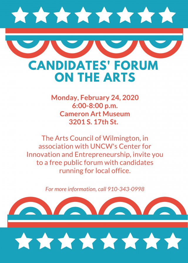 JOIN US FEBRUARY 24 @ THE CAM!